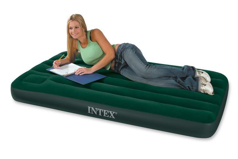 Кровать надувная relax jl027229ng high raised air bed queen со встроенным эл насосом 203x161x51 беж в наличии