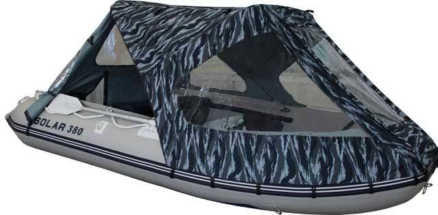 ходовой тент для лодки солар 350