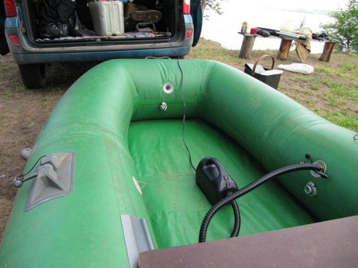 купить насос на лодку интекс