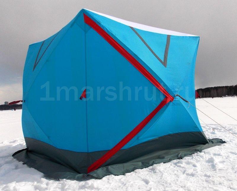 палатка для рыбалки 4 местная куб